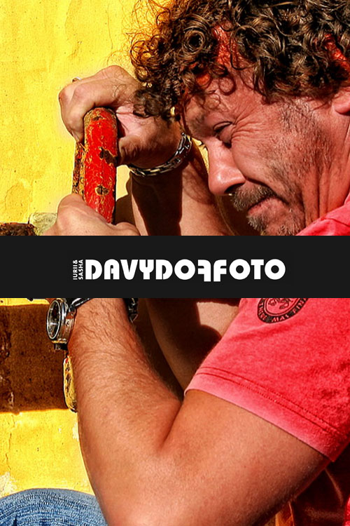 Создание сайта визитки харьковскому фотографу Юрию Давыдову