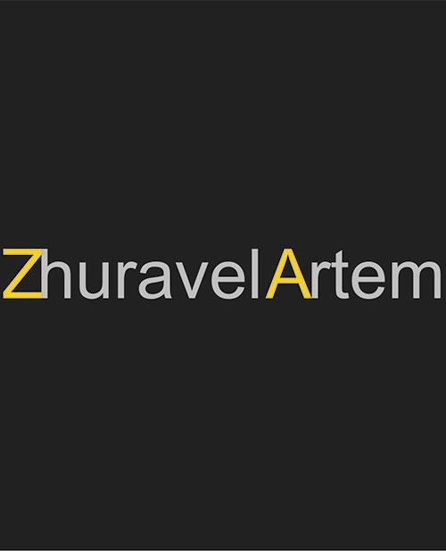Создание сайта визитки киевскому архитектору Журавель Артему