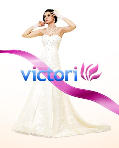 Создание промо сайта студии свадебного и вечернего платья Victori