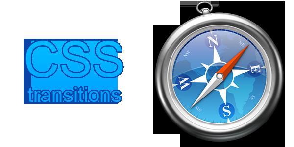 Safari CSS transitions