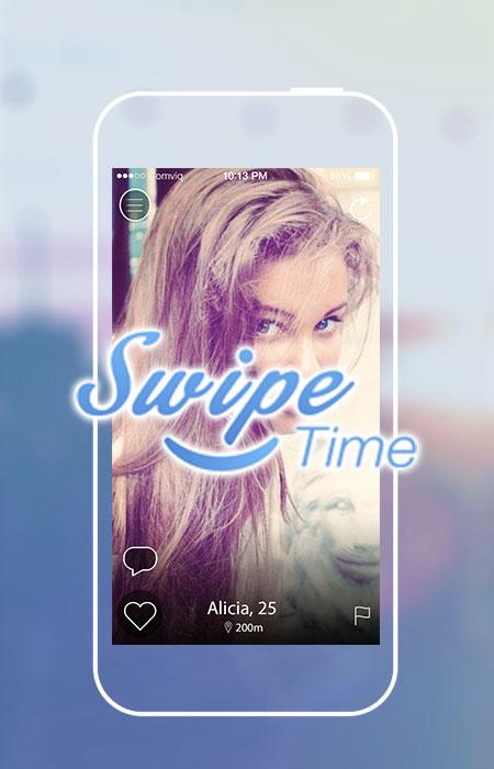 Создание лэндинг пэйдж для французского приложения SwipeTime