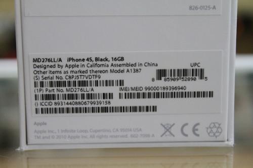 Наклейка оригинального iPhone