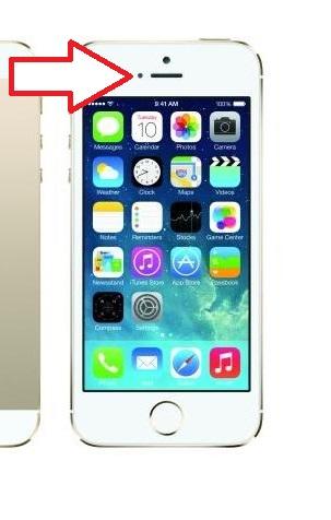Датчик освещения iPhone