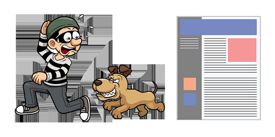 Как защитить контент сайта от воровства