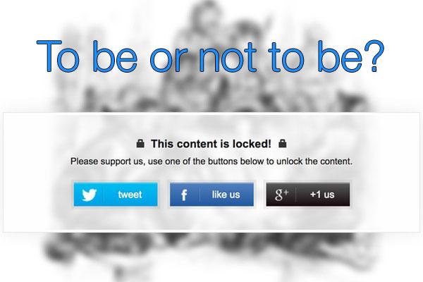 Социальные блокировщики контента - нужно ли?